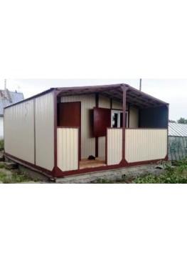Дачный модульный дом 5*6