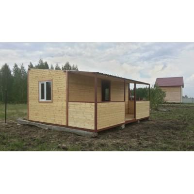 Модульный дом 6*2,4 + веранда
